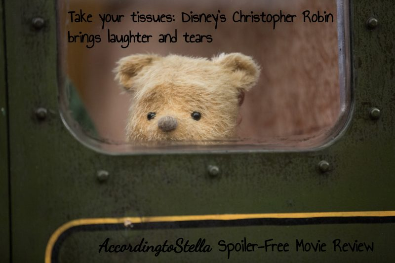 Christopher Robin: Better Suited for Older Kids [A Mom's Spoiler-free Movie Review]