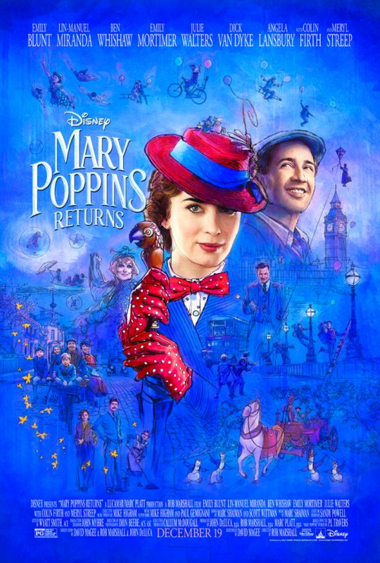 New trailer, poster and photos fromMARY POPPINS RETURNS