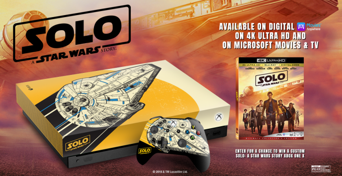 Xbox One SOLO Custom Console Sweepstakes and Printables