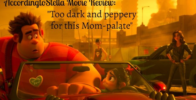 Ralph2 Movie Review: Too dark and peppery for my Mom-palate