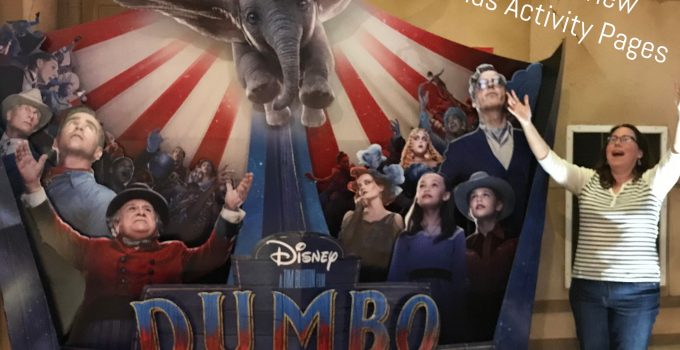 Live-Action Dumbo Takes Flight [Spoiler-Free Review + Activity Pages] #dumbo