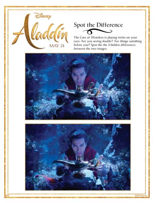 Aladdin-spotthediff