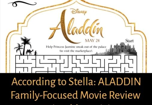 Guy Ritchie's Live-Action 'Aladdin' is Dazzling and Fresh with Will Smith + Bonus Activity Pages
