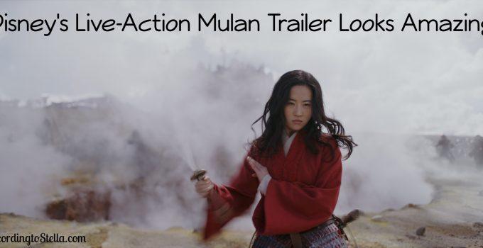 Live-Action Mulan Looks Amazing #mulan